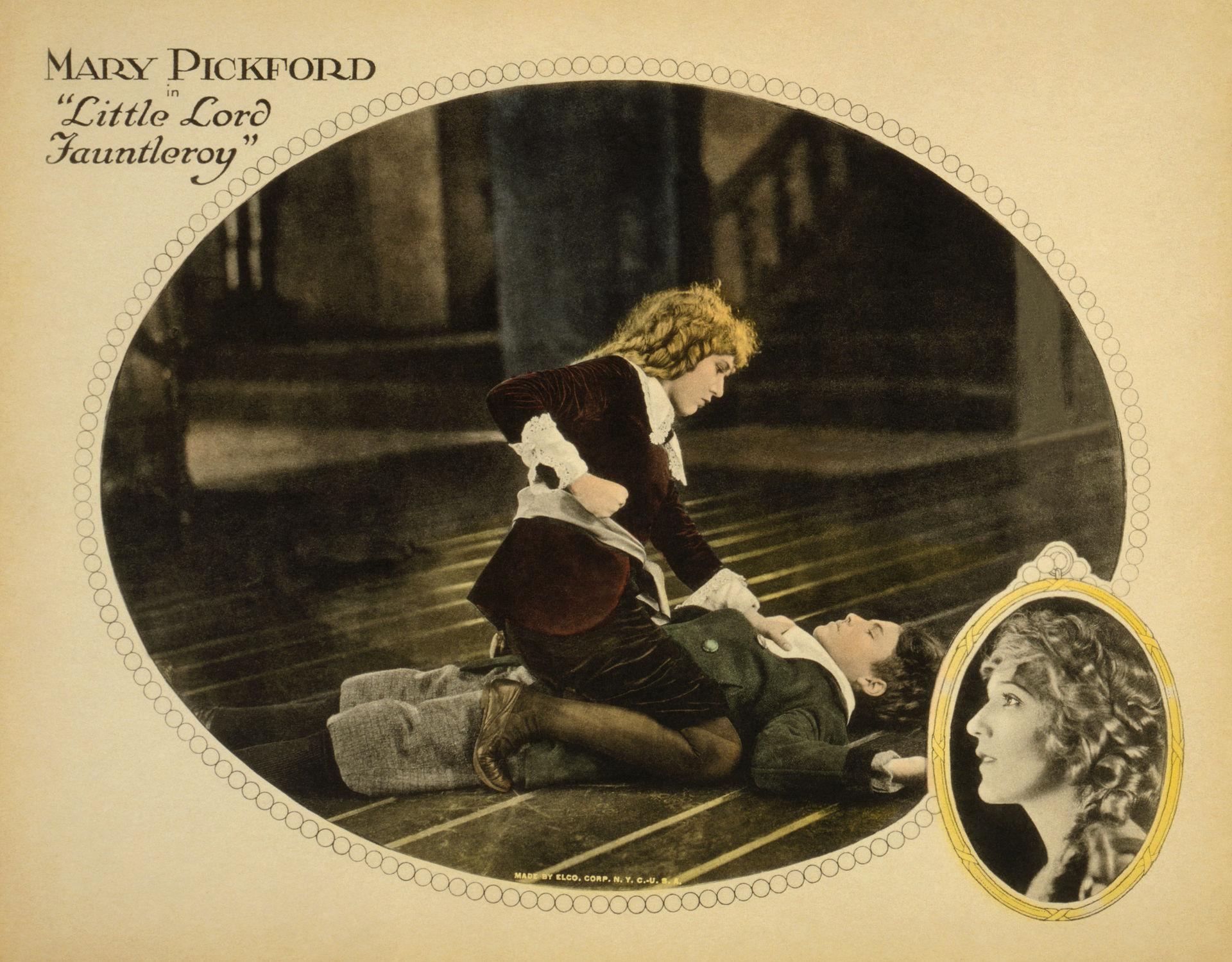 Старинный кино-постер